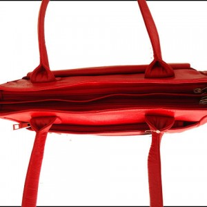 ZINT Genuine Leather Handmade Red Color Shoulder Bag