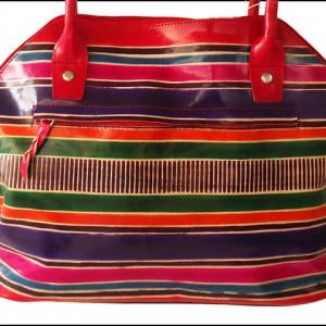 ZINT Genuine Leather Shantiniketan Tote Bag Ethnic Shopping Bag