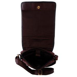 Zint Handmade Genuine Leather Messenger bag for men