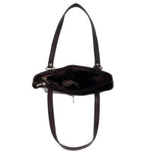 ZINT India Handmade Genuine Leather Laser Cut Design Shoulder Bag