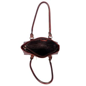 ZINT India Handmade Genuine Leather Centre Stitching Shoulder Bag