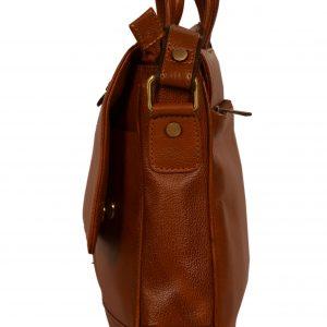 ZINT Genuine Leather Laptop Bag/Messenger Bag