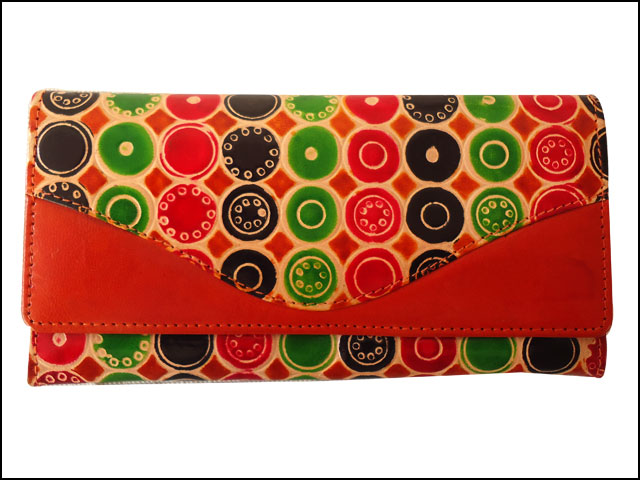 Zint Genuine Leather Shantiniketan Women's Clutch
