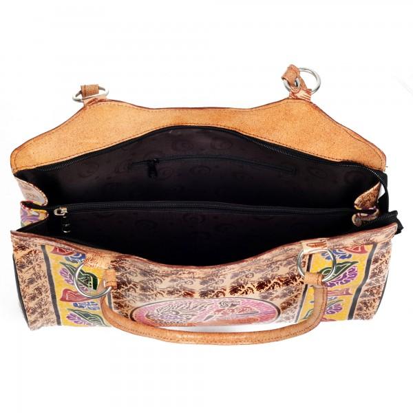 Shantiniketan Leather Bag