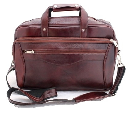 Genuine Leather Handmade brown Messenger Office Laptop Bag