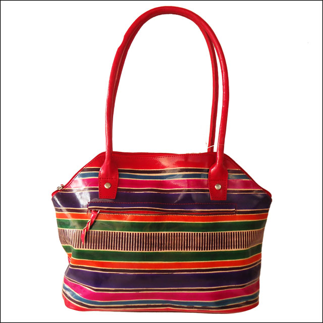 ZINT Genuine Leather Shantiniketan Tote Bag Ethnic Shopping Bag
