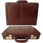 Genuine Leather Hard Briefcase