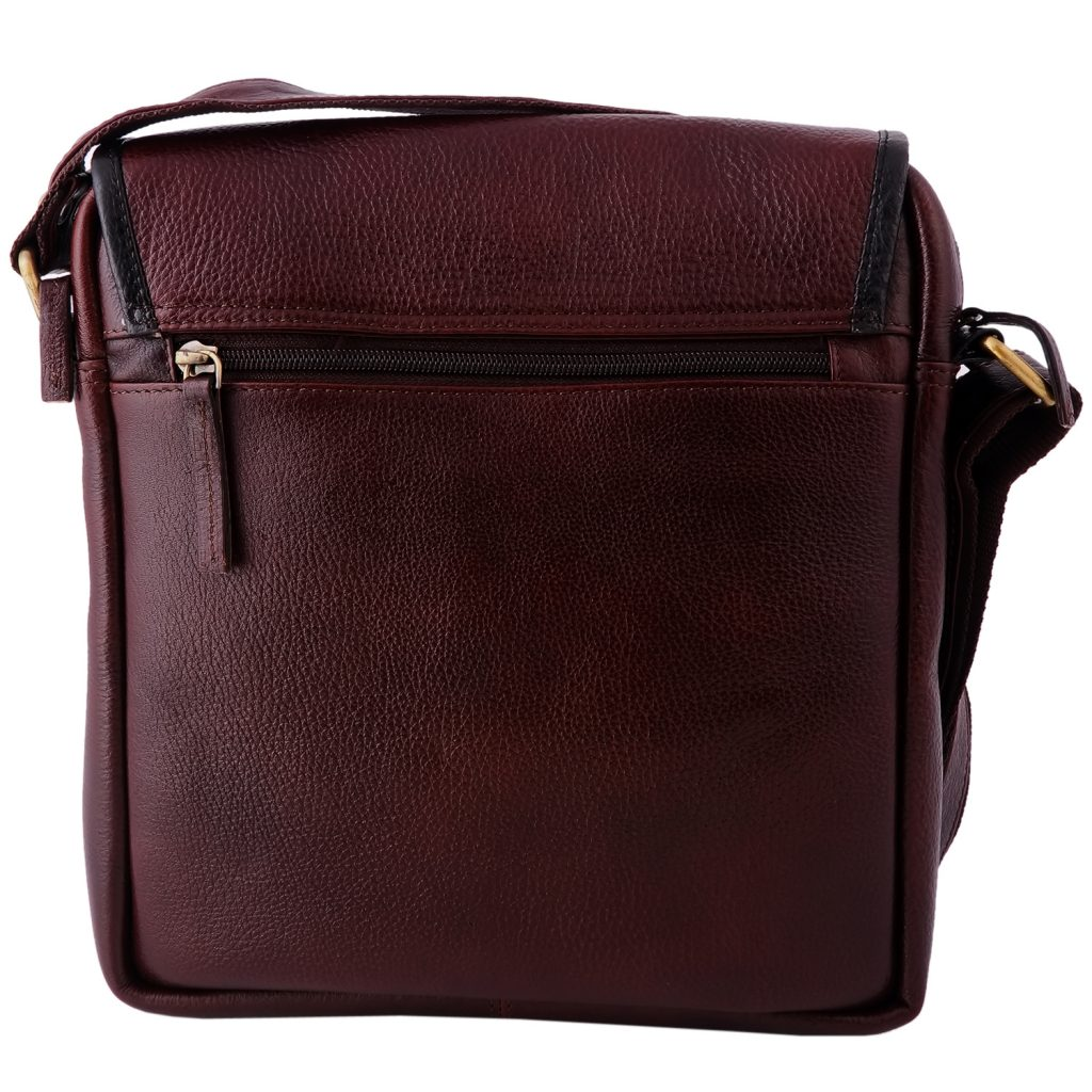 Zint Handmade Genuine Leather Messenger bag for men