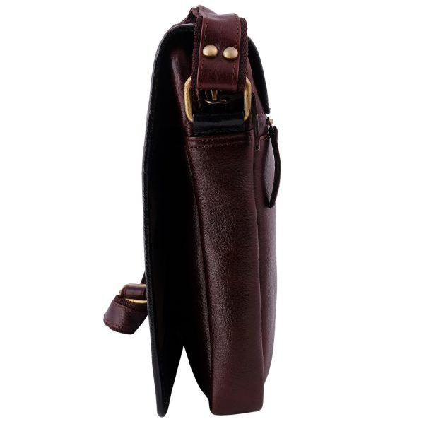 Genuine Leather Messenger bag for men