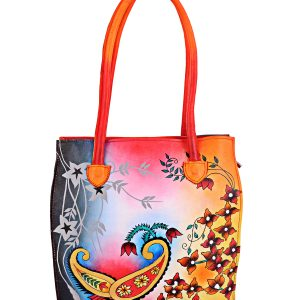 ZINT Hand Painted Leather Bag