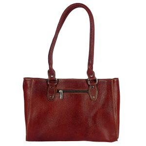 ZINT India Handmade Genuine Leather Centre Stitching Shoulder Bag