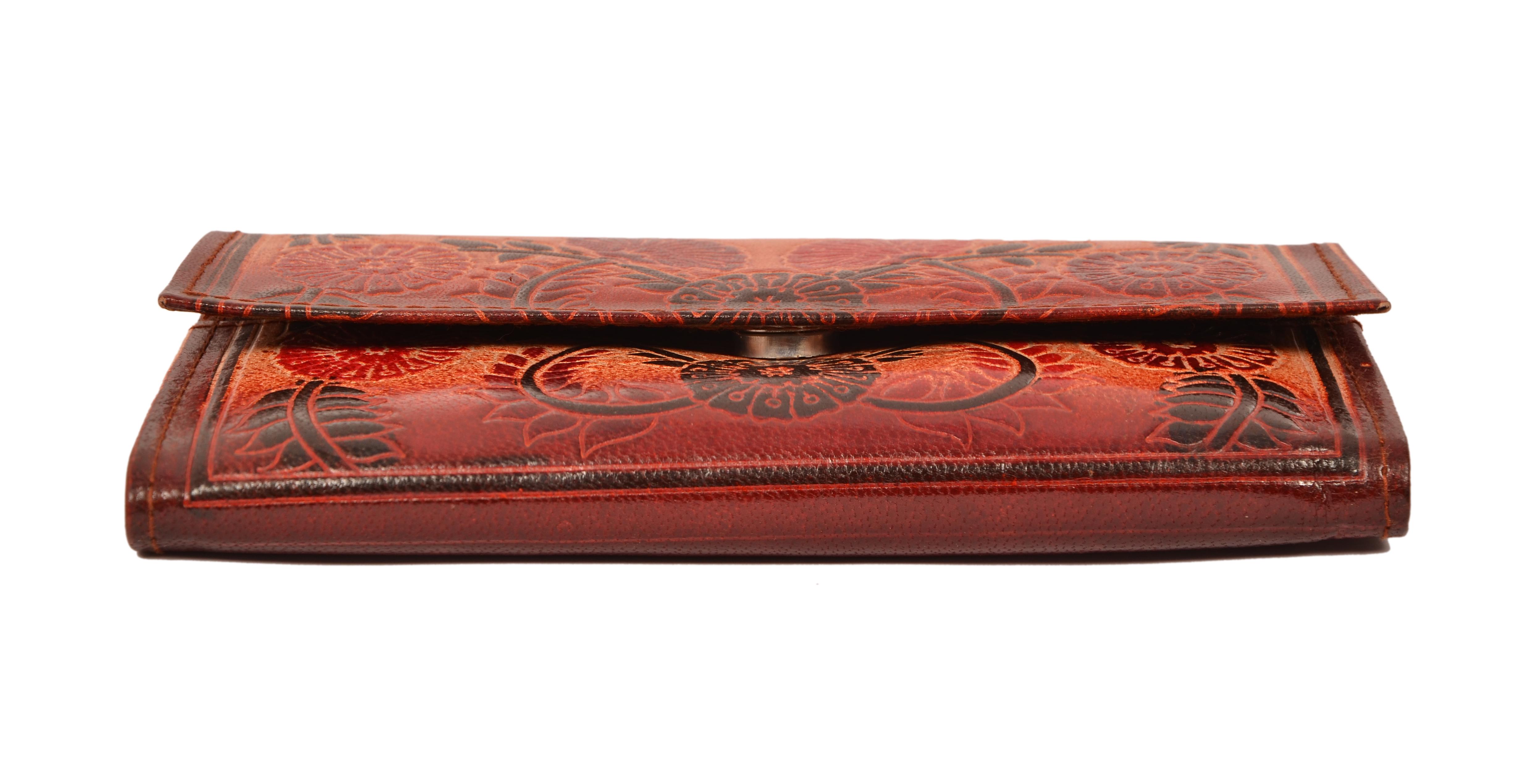 Zint Shantiniketan Pure Leather Floral Design Women S