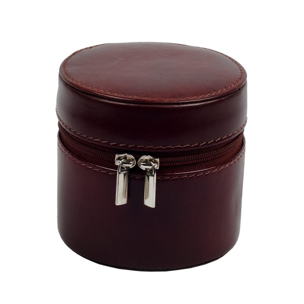 Handmade Genuine Leather Jewelry Box