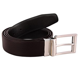 ZINT Genuine Leather Reversible Matt Design Belt