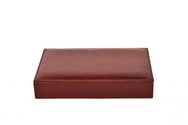 ZINT Genuine Leather Small Valet Tray/ Desk Organisor