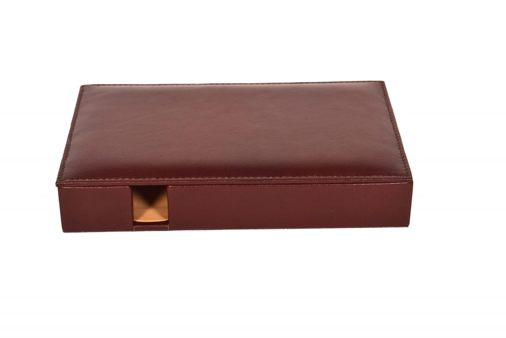 ZINT Genuine Leather Small Valet Tray/ Desk Organisor