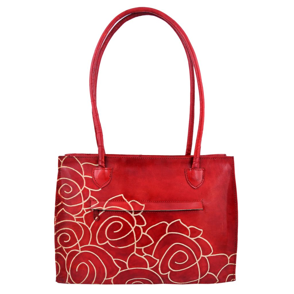 ZINT Genuine Leather Shantiniketan Bag