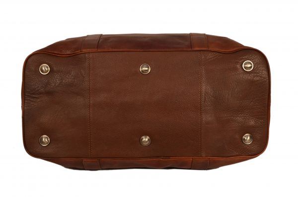 ZINT Genuine Leather Duffle Bag
