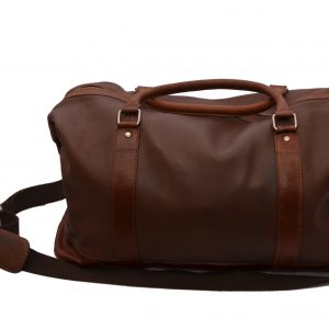 ZINT Genuine Leather Duffle Bag